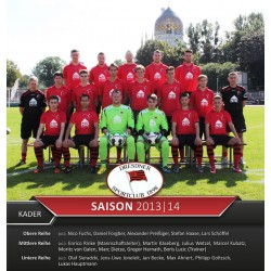 DSC-Mannschaftsposter 2013/14