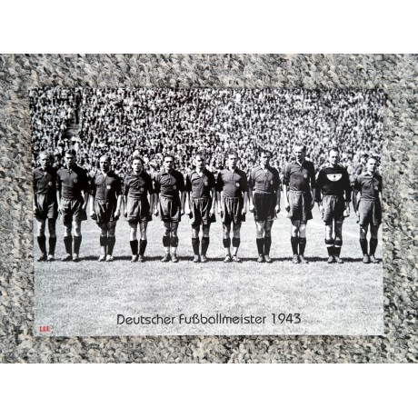 Big-Card Serie F Deutscher Fußballmeister 1943