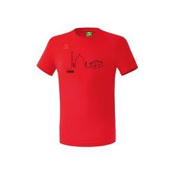 T-Shirt rot (Kinder)