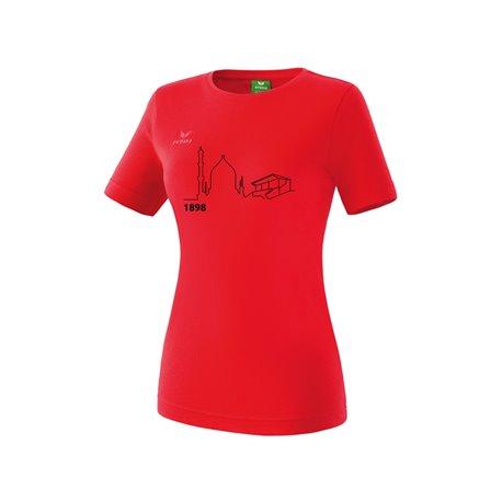 T-Shirt rot (Damen)