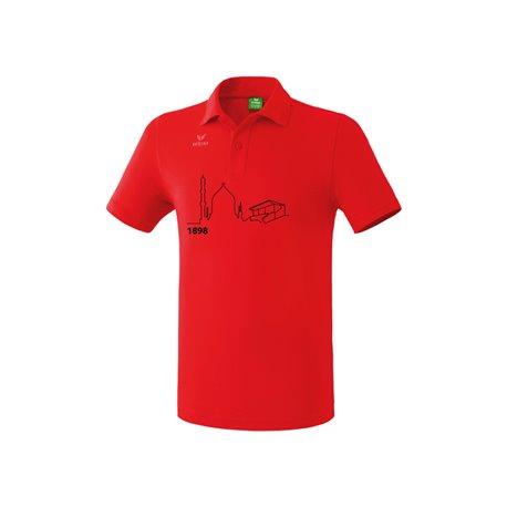 Poloshirt rot (Herren)