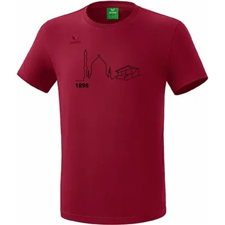 T-Shirt bordeaux (Kinder)
