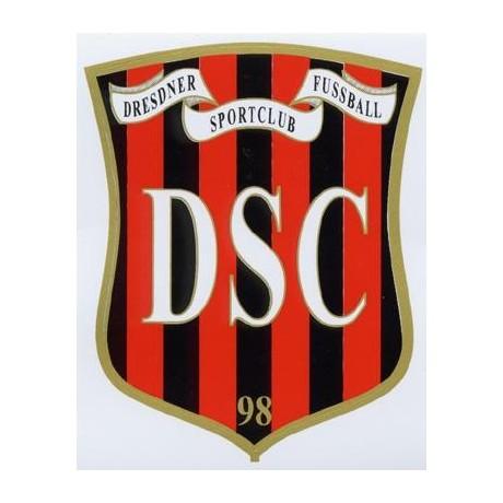 Aufkleber DSC Fußball 98